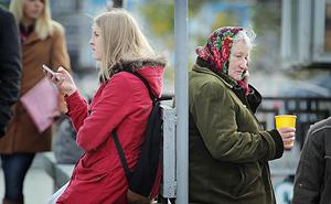 Число живущих за чертой бедности россиян подскочило почти до 16%